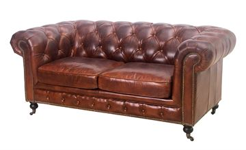 Chesterfield 2-Sitzer-Sofa - Oakland-Modell