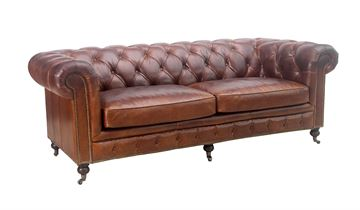 Chesterfield 3-Sitzer-Sofa - Oakland-Modell